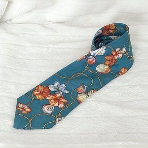 FENDI Vintage Silk Dress Necktie Made In Italy